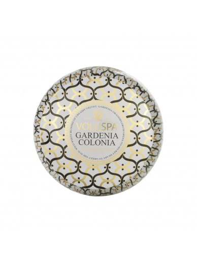Bougie 2 mèches Gardenia Colonia Voluspa