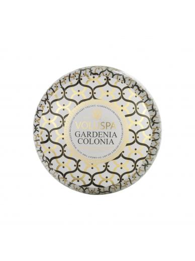 Bougie 2 mèches Gardenia Colonia