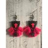 Boucles d'oreilles Croix 302 Les Francines