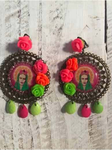 Boucles d'oreilles Frida CLIPS 356 Les Francines
