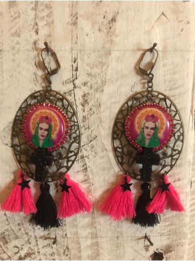 Boucles d'oreilles Frida 358 Les Francines