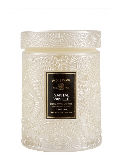 Bougie Small Jar Santal Vanille Voluspa