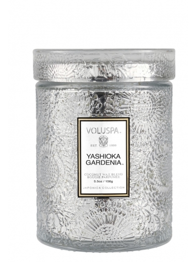 Bougie Small Jar Yashioka Gardenia Voluspa