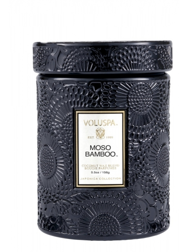 Bougie Small Jar Moso Bamboo Voluspa